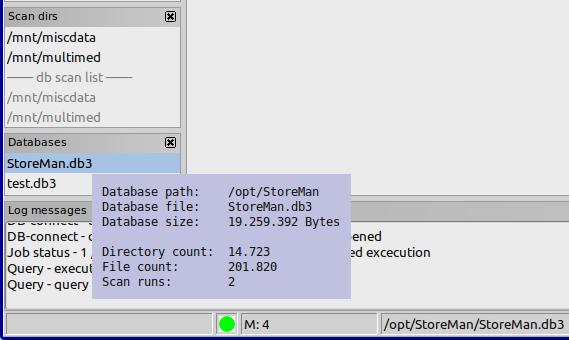 Database context